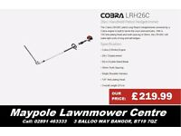 NEW Cobra Hedgecutter - 26cc, 135° Articulating Head, 2 Year Warranty