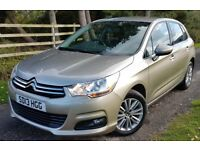 ONLY 19,000 MILES. CITROEN C4 1.6 DIESEL..ONLY £30 TAX