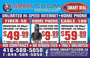 UNLIMITED INTERNET, CHEAP INTERNET, HOME PHONE, FIBER INTERNET, CABLE INTERNET, HI-SPEED INTERNET, FREE MODEM