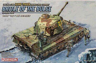 Dragon DML 1:35 Battle Of The Bulge SpzAbt 501 King Tiger Henschel Kit 6254U