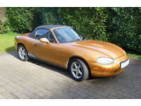 Mazda MX5 1999 Mk2 1.8i One owner and great runner with MOT but in need of some work