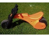 Y-bike - Balance Bike For Ages: 2 - 4 years, stable - double rear wheel, comfortable seat