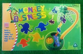 Brand New Monkey Business Game