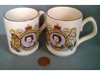 Sadler Queen Elizabeth Silver Jubilee Mug 1977
