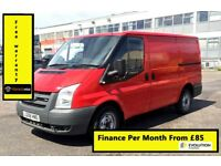 Ford Transit 2.2 260 SWB, 1 Owner From New, Full Service History -13 Stamps, 1YR MOT, Warranty, 120K