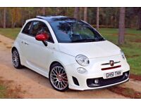 2010 Abarth 500 1.4T - EXTREMELY RARE SPEC ** XENONS, SAT-NAV, PANORAMIC, INTERSCOPE, FUNK PEARL**