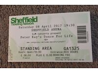 Peter Kay's Dance for Life - Three Tickets, Standing Area, 08.04.2017, 19.30