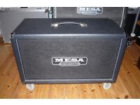 Mesa 2x12 Rectifier Horizontal Guitar Cab - Celestion Vintage 30s/Mesa Slip Cover & Casters Boogie