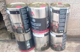 Free to collector, six oil cans/drums. Barrels.
