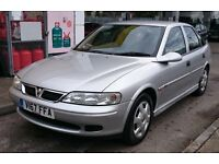 In Bideford Our Year 2K Silver Vauxhall Vectra 1.8 16V SE Petrol 5 Door Hatchback NEW 12 months MOT