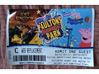 Paulton Park ticket for sale to use for any adult or child over 1 metre high £20