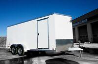 2016 ATC RAVEN 7x16 cargo trailer with RAMP