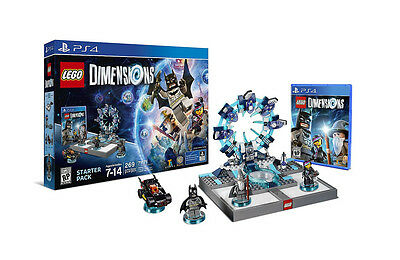 Ps4 Lego Dimensions Starter Pack   71171   Playstation 4   New Open Box