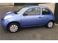 Nissan Micra S 2005 1.2 with 76000 miles recently MOT