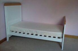 Nursery furniture - first bed with mattress & duvet -Tutti Bambini
