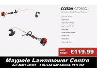 New COBRA GT260C Grass Strimmer - Cheap, Trimmer, Good Quality, 2 Year Warranty