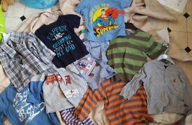 Boys clothes bundle 18-24 months -near watton