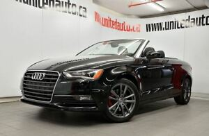 2015 Audi A3 QUATTRO Cabriolet - 2.0T Komfort LOW KMS