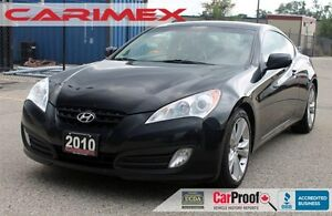 2010 Hyundai Genesis Coupe 2.0T Premium | Sunroof | Leather