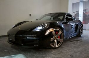 2018 Porsche Cayman S | Manual | Nav | Exhaust | CPO |