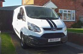 Ford Transit Custom 290 Eco Tech long wheel base. 2013