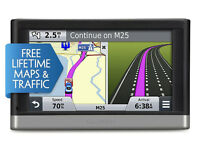 "GARMIN 2517LM 5"" GPS Sat Nav with Free Lifetime Maps, Smartphone Link Traffic Updates and Bluetooth"