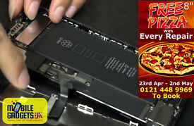 *** Free Pizza With Every iPhone iPad iPod Repair Booked at Mobile Gadgets UK ***