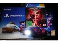New Playstation 4 VR with Tekken 7 - Bargain