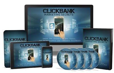 Clickbank Marketing Secrets Ebooks Video Mrr Bonus Sales Page