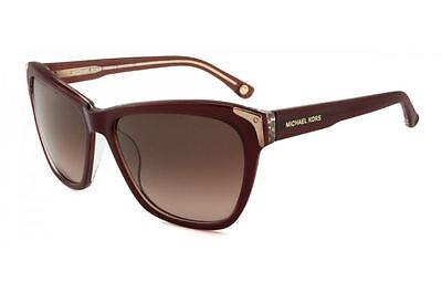 NWT MICHAEL KORS MKS826 604 Madeline Sunglasses 604 Burgundy w/gift receipt