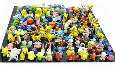 "24PCs Large Size Cute Pokemon 2-2.5"" Random Pearl Figures Toy No Duplicates"