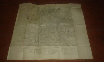Map Geographical Map Military Military Map 1938 Matsch Mals Venosta 1:25000