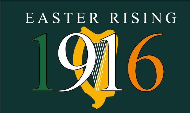 1916 Easter Rising Flag - 5x3