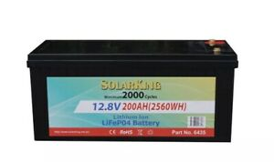 Lithium LiFePo4 Deep Cycle Battery caravan 4x4 performance 12V 200ah Valley View Salisbury Area Preview