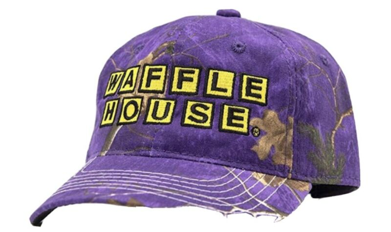 JUST IN BRAND SPANKING NEW CAMO WAFFLE HOUSE BALL CAP