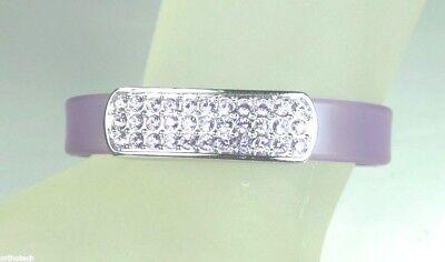 Swarovski Jelly Bracelet Lilac Purple Crystal Rhinestones 1808226 NIB Free - Crystal Jelly Bracelet