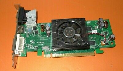 GENUINE Dell Pegatron ATI Radeon HD 3450 256MB Graphics Card DVI HDMI F342F