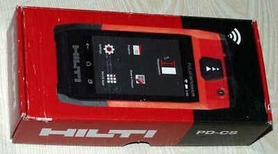 Hilti Pd-cs Laser Range Meter Tool Bluetooth Wifi Camera Latest Model