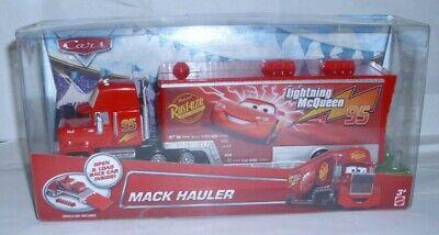 Disney Pixar Cars Mack Hauler #95 For Lightning McQueen Die-Cast New