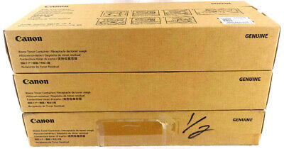3-pack Canon Fm4-8035-010 Waste Container For Canon Copiers Oem Free Shipping