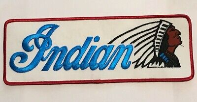 Vintage Indian Motorcycle Back Patch, Indian Motorcycle