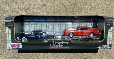 Motor Max American Classics 1955 Chevy Bel Air and 1977 Pontiac Firebird