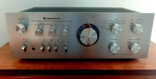 Kenwood KA-7100 Integrated Amplifier, Mint in original box w/sealed manual