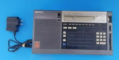 Sony Model ICF-2010 Portable Shortwave Radio Receiver Air/FM/LW/MW/SW