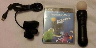 Playstation 3 Move Controller und Kamera mit Starter Disc