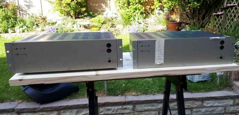 Toa 100V 240W Line Amplifier x2