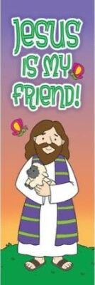 Bookmark - Jesus is My Friend Kid's Bookmark - Package of (Jesus Bookmark)