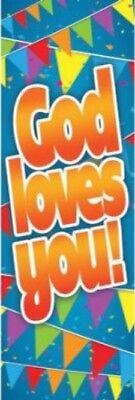Bookmarks - God Loves You! (1 John 3:1 NIV) Kid's Bookmark - Package of 25](Children's Bookmarks)