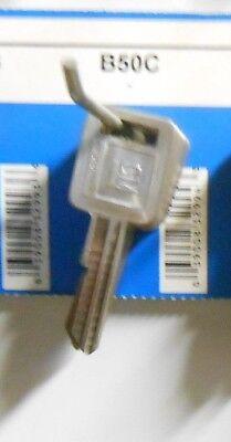 Eight-GM General Motors B50C key blanks U.S.A.