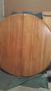 Solid Birch Table Set in Mint Condition St. John's Newfoundland image 4